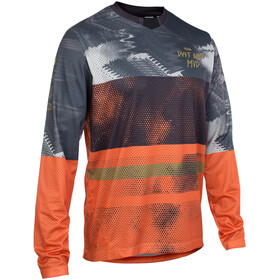 ION Scrub Longsleeve Shirt Heren, riot orange